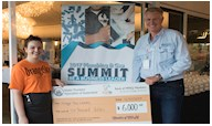 $6,000 Donated to Orange Sky Australia at MPAQ's 2017 Plumbing and Gas Summit