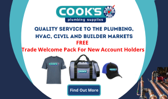 Cook's Plumbing Supplies Side Panel Ad 25/06/2020