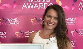 Tiffany English Wins Aspiring Young Businesswoman Award