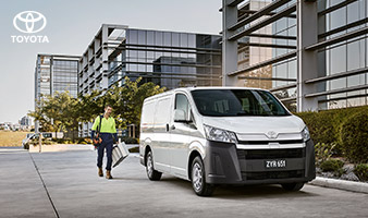 All-New HiAce. Purpose built for hard-working businesses