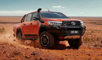 Gold Fleet Discount - Save extra on the 2019 HiLux Rugged X
