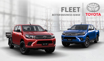 Toyota Gold Fleet Discounts