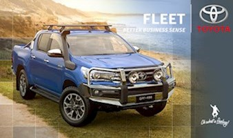Gold Fleet Discounts with Toyota