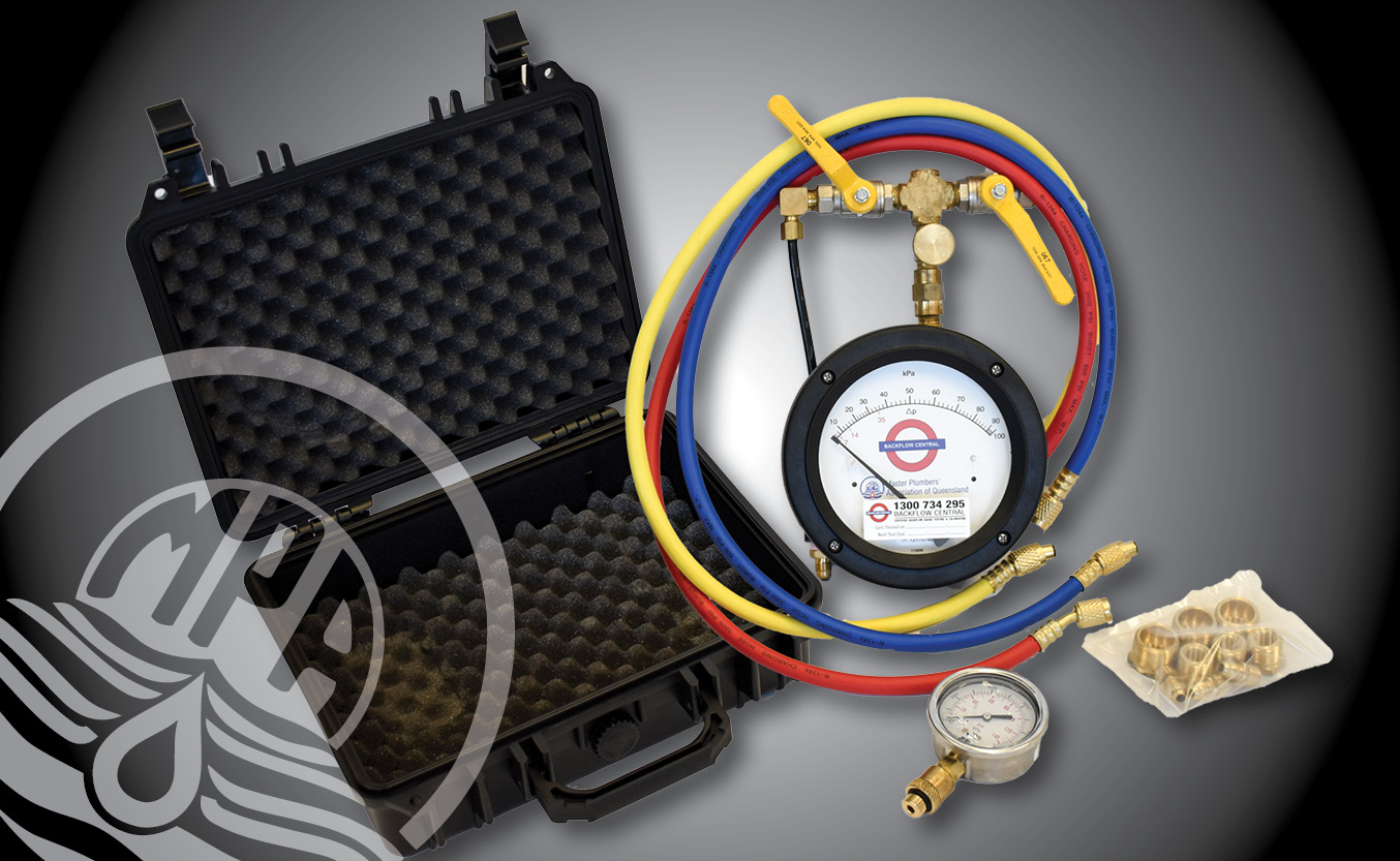 Ultra Premium Backflow Test Kit